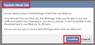 How To Access Your Blocked List On Facebook