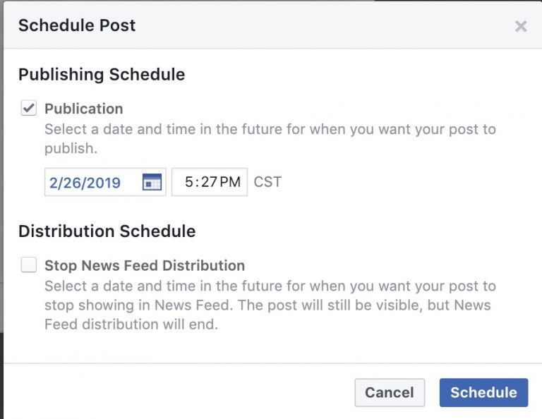 How To Schedule A Facebook Post - How to Schedule a post on Facebook App