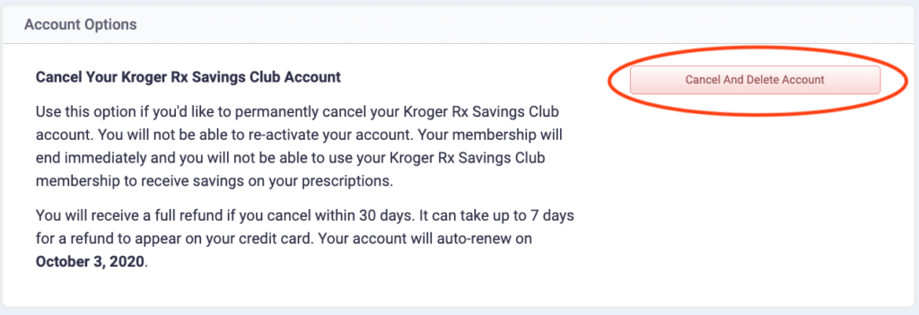 How to Delete Kroger Account - Delete Kroger Account | Can You Cancel a Kroger Clicklist Order