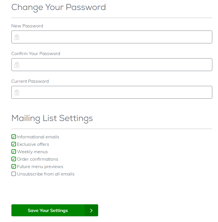 Home Chef Password - How To Change Home Chef Password | Reset Your Password On Home Chef